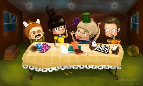 The Noisy Table